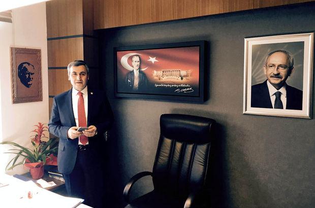 O iddiaya Atatürk fotoğrafı önünde yanıt