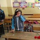 Kilis'te roketin 2 can aldığı okulda hüzünlü açılış