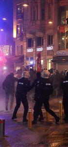 Galatasaray'daki 'Cizre' eylemine müdahale