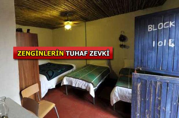 Fakir hayatı yaşamak için bu otelde kalıyorlar!