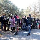 Ayvacık'ta iki günde 869 kaçak göçmen yakalandı