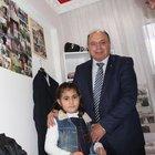 9 yaşındaki şehit kızı: Babam gibi polis olacağım