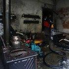 Mersin'de sobadan sıçrayan alevler yangına neden oldu
