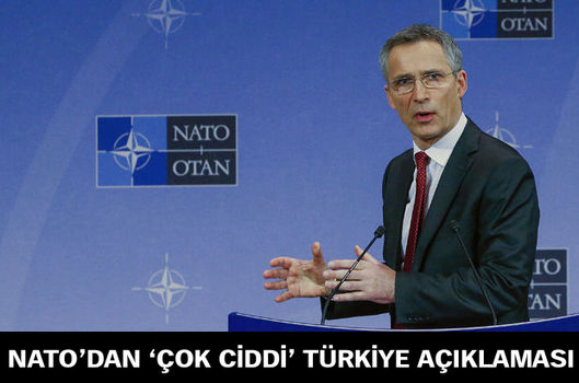 NATO'dan 'çok ciddi' Türkiye açıklaması