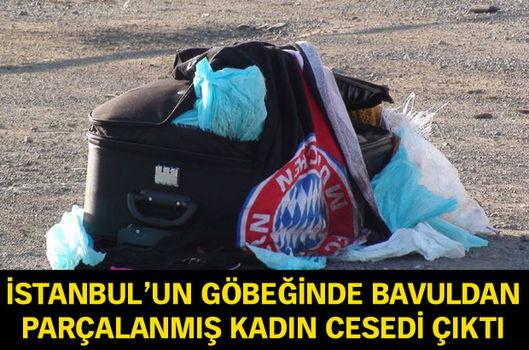 İstanbul'un göbeğinde bavuldan parçalanmış kadın cesedi çıktı!