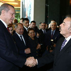 Erdoğan sigarayı bırakanları ağırladı