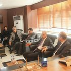 CHP heyeti Ahmet Türk'ü ziyaret etti