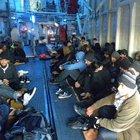 Ayvacık'ta 53 yabancı uyruklu yakalandı