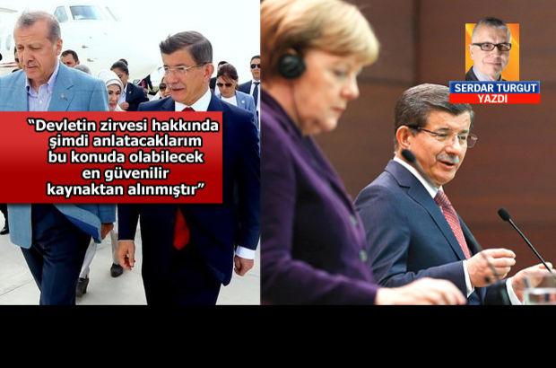 Cumhurbaşkanı-Başbakan arasındaki ilişki, Davutoğlu-Merkel uyumu