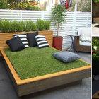 Balkona ve bahçeye çim yatak yapın!