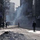 Yüsekova'da askeri konvoy geçişi sırasında gerginlik