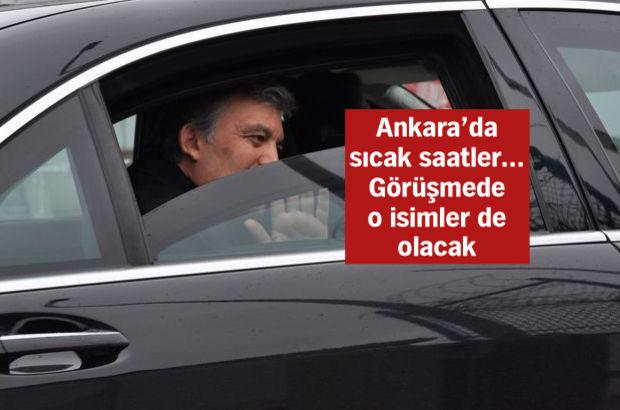 Gül, Erdoğan'dan sonra Arınç ile görüşecek