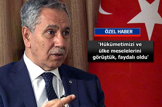 Bülent Arınç Habertürk'e konuştu: 'İyi bir AK Partiliyiz'