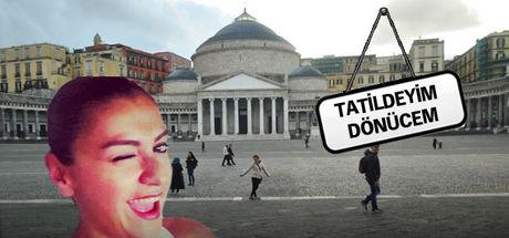Seda Zeynep Köse pizzanın ana vatanı Napoli'de