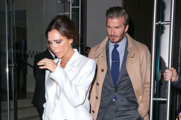 Victoria Beckham ile David Beckham moda haftasına hazırlanıyor