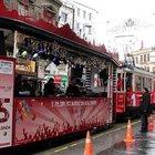 Nostaljik tramvaylara özel kutlama