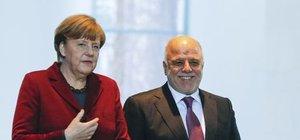 Merkel: Irak'ın toprak bütünlüğünden yanayız