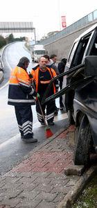 Sarıyer'de kaza
