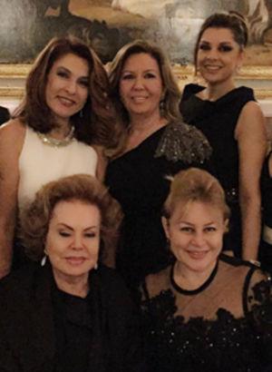 Sarayın Türk misafirleri