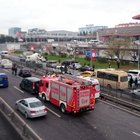 Bahçelievler'de metrobüs kazası
