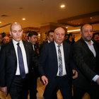 DİSK Genel Kurulu'nda protesto: Süleyman Soylu salondan ayrıldı