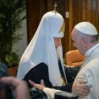 Papa ve Patrik Küba'da bir araya geldi