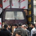 Minibüsünü ambulans olsun diye Türkmenlere yolladı