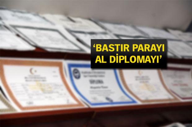 Dolandırıcılardan 'diploma'lı vurgun!