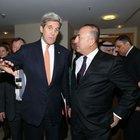 Mevlüt Çavuşoğlu, John Kerry ile görüştü