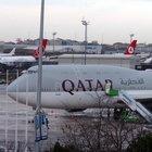 THY uçağı Katar Emiri'nin uçağının kuyruğuna sürttü