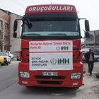 Malatyalı kayısıcılardan Suriye'ye yardım eli