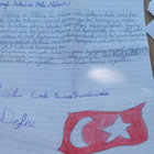 Siirt'te bir polis kızının yazdığı mektup duygulandırdı