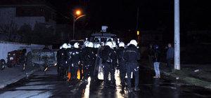 Manisa'da izinsiz gösteriye 11 gözaltı