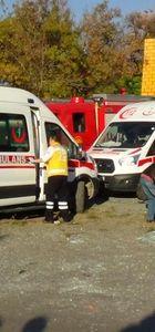 Kırıkkale'de iki zincirleme kazada 7 araç birbirine girdi