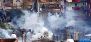 Nusaybin'de çatışma: 1 polis yaralı