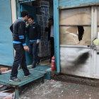Nusaybin'de markete molotofkokteyli saldırı