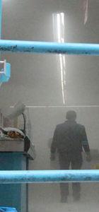 Mardin'de müşteri dolu markete molotoflu saldırı!