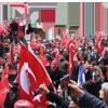 Fransa'da Türkiye'ye destek mitingi