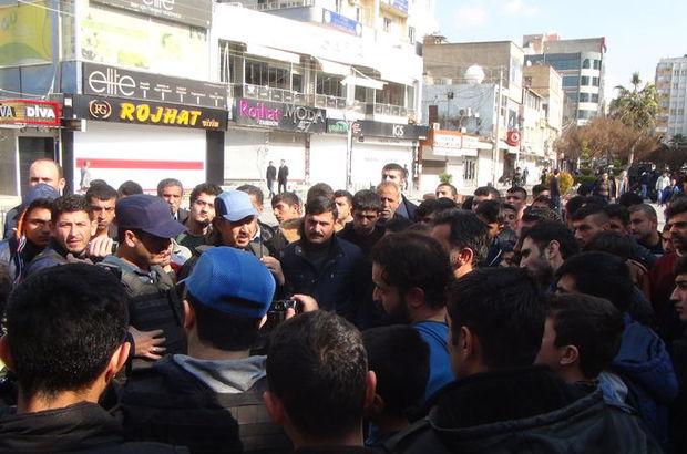Kızıltepe'de izinsiz gösteri
