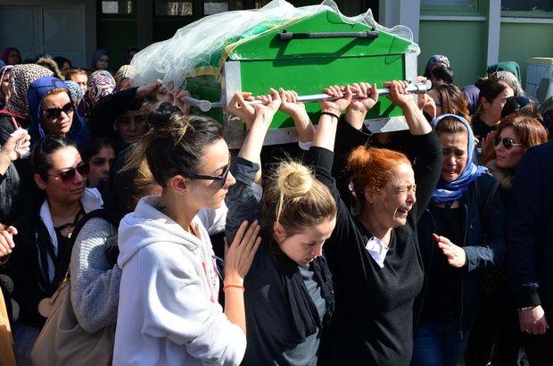 Türkan Sarıkaya'nın cenazesini kadınlar omuzladı