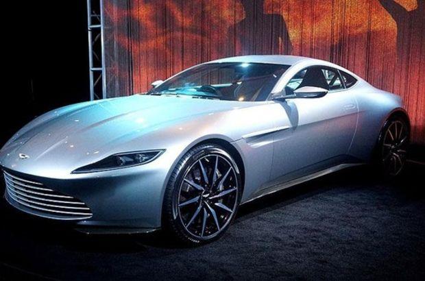 James Bond'un arabası 10,2 milyon liraya satıldı