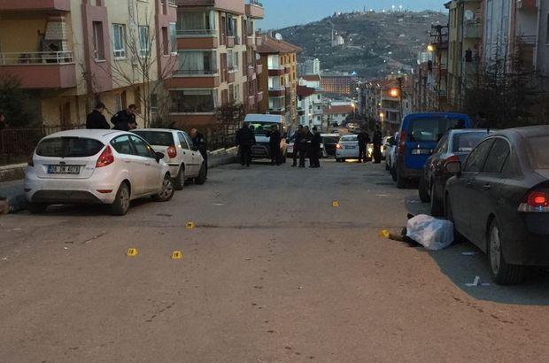 Ankara'daki silahlı çatışma güvenlik kamerasında