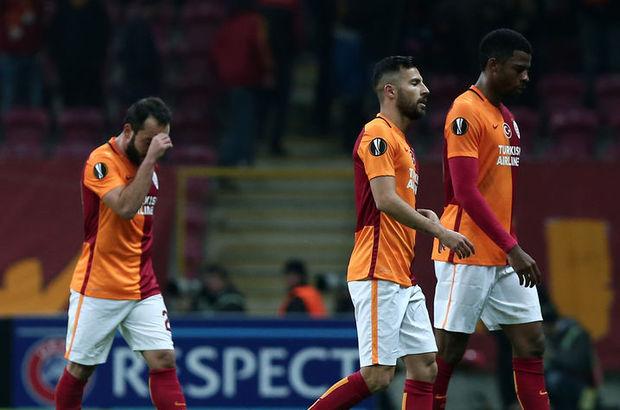 Galatasaray'ın Avrupa'daki başarısızlığı sürüyor