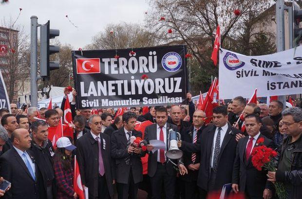 Ankara'da 28 can için anma töneri