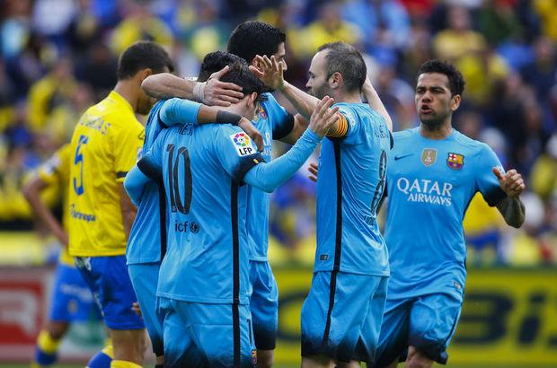 Las Palmas: 1 - Barcelona: 2