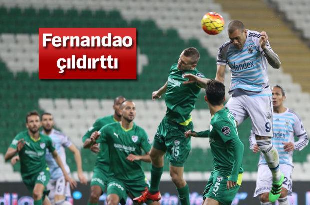 Bursaspor: 0 - Fenerbahçe: 0 (MAÇ SONUCU)