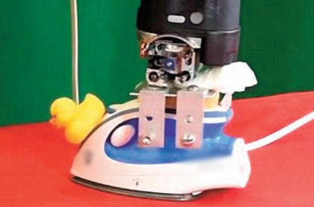 ABD'de yakmadan ütü yapabilen robot kol üretildi