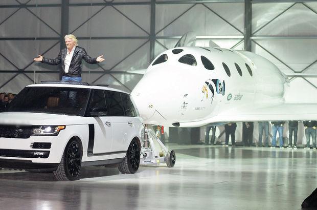 """Virgin Galactic firmasının ikinci """"uzay uçağı"""" hazır"""