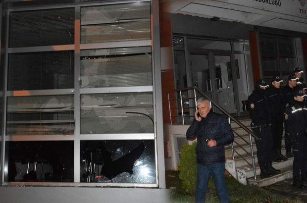 TFF binasına saldırı