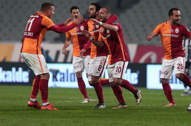 Galatasaray'da Podolski ve Sneijder cezalı